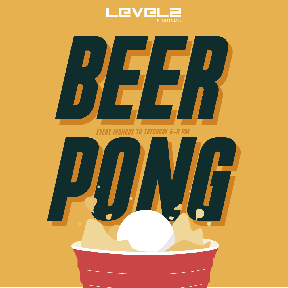 Beer Pong Yellow